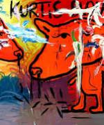 Bjarne Melgaards bilder på Munch-museet overgår bilder av det norske ikonet Edvard Munch( Foto: Satchhighgallery.com)