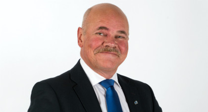 Statssekretær Jardar Jensen i Kommunal- og arbeidsdepartementet.