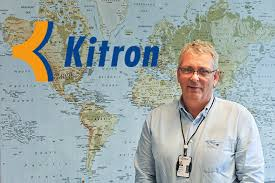 Direktør Hans-Petter Thomasen, Kitron, has got a long term contract with Northrop Grumman in California(Photo: Kitron)
