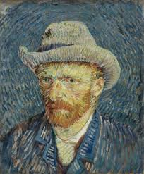 Vincent van Gogh, selvportrett, utstilt på munch-museet i Oslo( Foto: Munch-museet)
