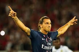 Zlatan Ibrahimovich var kveldens stjerne da Malmå FF tapte 0-5 for franske PSG( Foto: SDS)