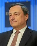 Sentralbanksjef MarioDraghivil  ha sterkere økonomiskekst(Foto: Wikipedia)