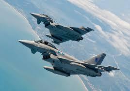 Eurofighter Tyfoon er med i den danske debatten om jagerfly. Forsvarsanalytiker John Berg reiser debatt om jagerfly(Foto: Eurofighter)