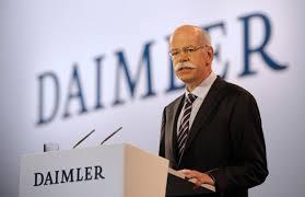 Konsernsjef Dieter Zetsche i Daimler AG har oljefondet og amerikanske Black Rock som største eiere. Men Quatar er aller størst( Foto. Daimler)