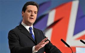 Finansminister George Osborne is expecting a yes to the European unio in the Midsummer election( Photo. dIE tELEFRAPH. UK)