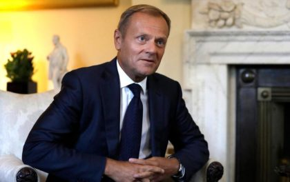 President Donald Tusk in EU is discussing the future after Brexit( Photo: Associated Press)