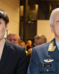 Forsvarsminister Ine Eriksen Søreide og generalløytnant Morten Haga Lunde( Foto: Regjeringen)