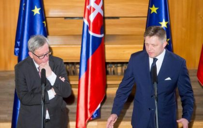 No more centralized institutions in EU. Slovakian prime minister Robert Fico right(Photo:Ap)