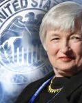 Chair woman Janet Yellen i Federal Reserve øker renten tre ganger i løpet av neste år( Foto: US Gov)