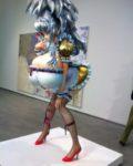 Den japanske kunstneren Takhashi Muraakamis 3MGirl fra 2011 vekker oppsikt på Astrup Fernley-museseet på Tjuvholmen i Oslo( Foto: Erik Heming)
