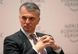 CEO Sergio Ermott i UBS Group er en av oljefondet store bankinvesteringer(Foto: Flickr)
