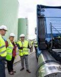 Erna åpnet Biokrafts anlegg i Skogn