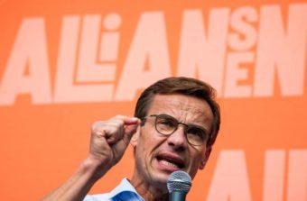 Ulf Kristersson presenteres som ny statsministerkandidat, etter at Stefan Løfven ble nedstemt fredag.