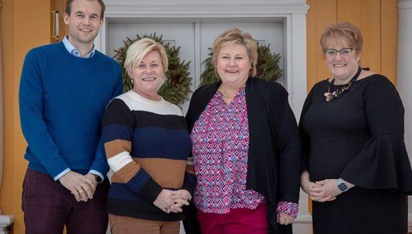 Erna Solbergs regjering utvides