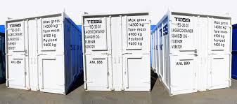 TESS sender revisjoncontainere til Equinor
