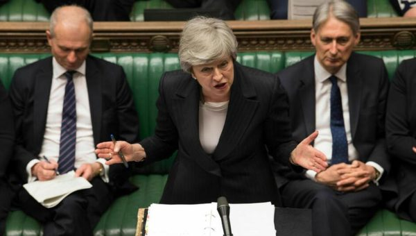 Theresa May is fighting for her political life